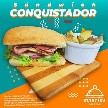 Sandwich conquistador